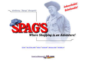 Spag's Website